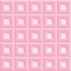 Vector abstract squares colorful background illustration. The plastic squares with highlights on faces. Seamless texture.