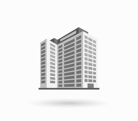 Skyscrapers House Building Icon
