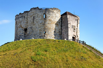 Clifford's Tower, York Castle, England