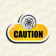 caution sign  design