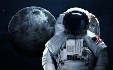 Wall Murals Nasa Astronaut in outer space. Spacewalk. Elements of this image furnished by NASA