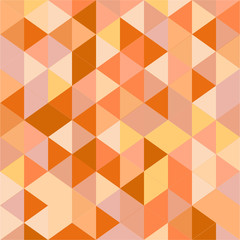 Orange Triangle Pattern
