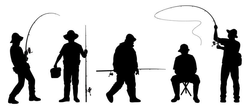 fisherman2 silhouettes