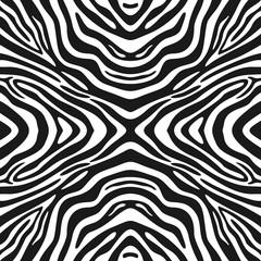 Trendy seamless zebra background