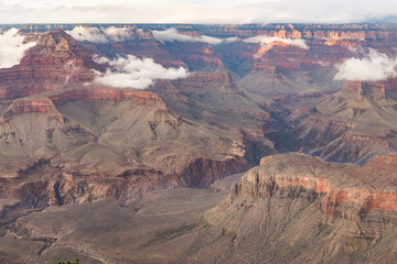 Grand Canyon National Park at dusk, Arizona, USA