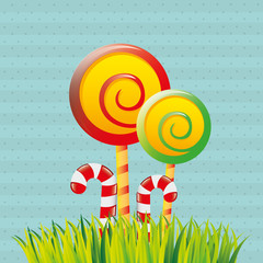 sweet candies design