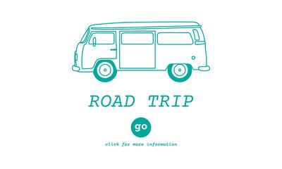Road Trip Car Freeom Transportation Travel Concept