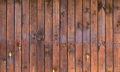 Planks wall wood house