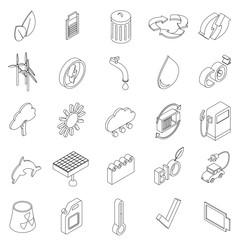 Ecology set icons