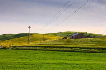 Farmhouse in the Sicily countryside