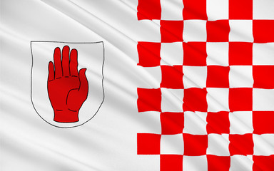 Flag of County Tyrone is a county in Ireland