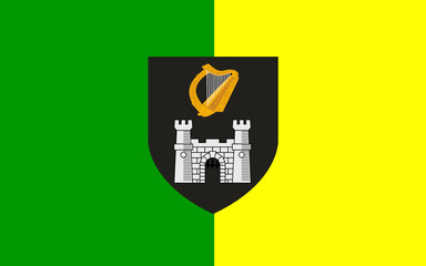 Flag of County Kerry is a county in Ireland