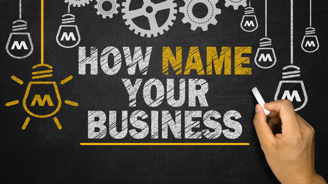 How Name Your Business