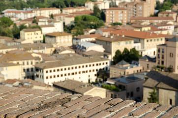 Fotobehang Temple Colle val d'Elsa (Siena)