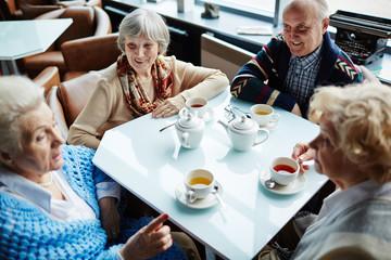 Talking by tea