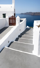 Oia Village Church and Steps