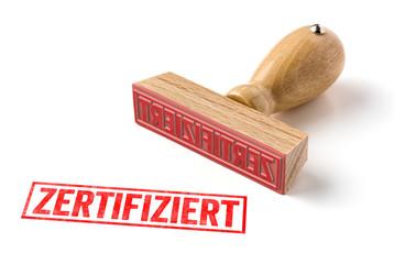 Holzstempel - Zertifiziert