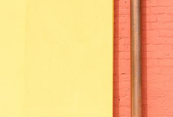 Muro con grondaia, texture