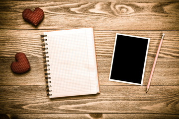 Writing love message