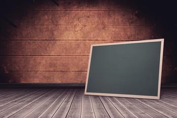 Composite image of chalkboard
