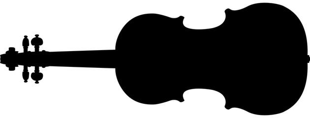 silhouette violin