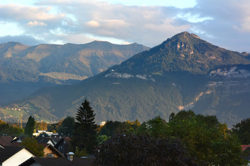 Mountain landscape in Austria, Alps