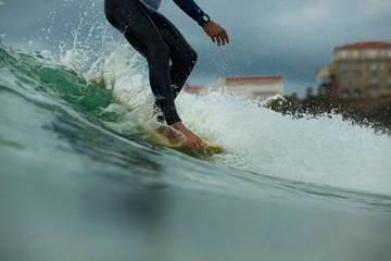 Surf Saut de la vague