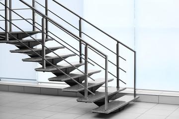 Fototapeten Treppe Modern stairs in office