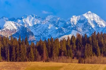 Wall Mural - Polish Tatra Mountains Scenery