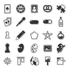 Graphic icon set