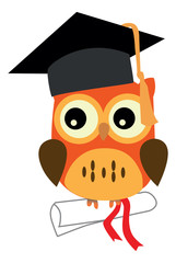 An illustration of a wise owl