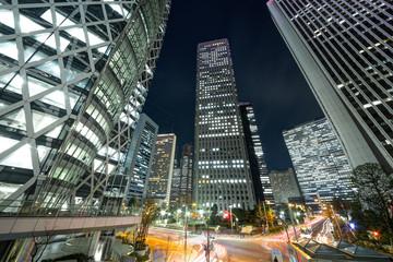 新宿・高層ビル・夜景