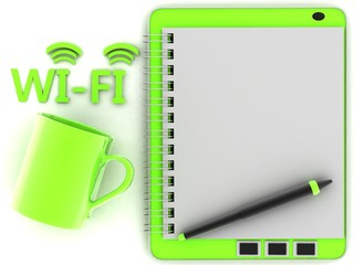 3D rendering Wi-Fi