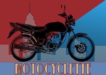 Art déco, moto