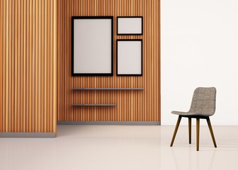 Minimal Decoration More chair modern Space and contemporary Elements Art