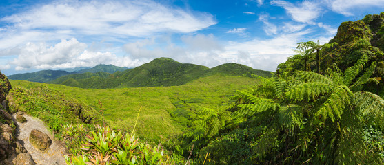 View from La Soufriere