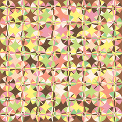 Ice Cream Color Pattern 1