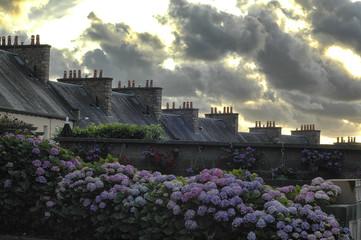 Cloudscape of Avrances (Normandy)