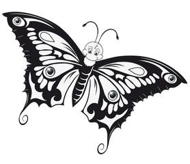 beautiful Butterfly Outlines Schmetterling Ausmalbild