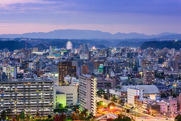 Kagoshima Japan Cityscape