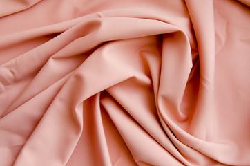 Fabric peach color