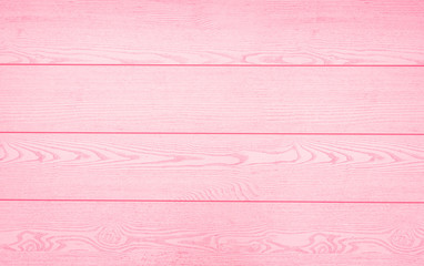 Pink panel background with artificial wooden texture - Rose color Interior plastic wall decoration -