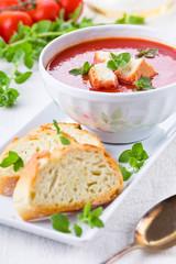 Tomato Soup With Oregano