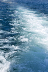 wake water
