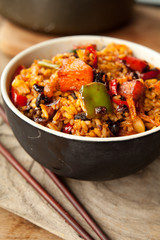 chinese oriental fried rice