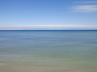 Abstract view of the sea and the sky