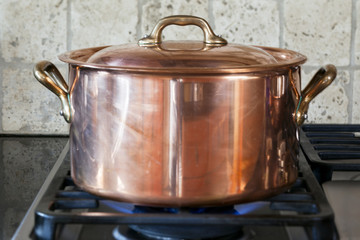 copper pan.