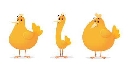 Chicken Cartoon Illustration
