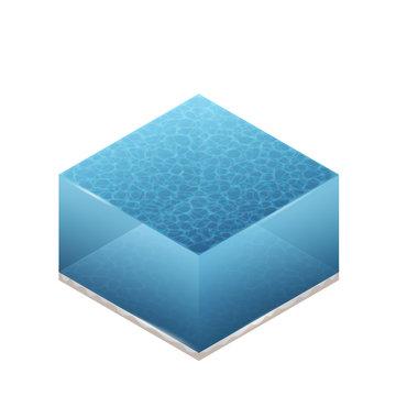 Isometric Illustration Of Water