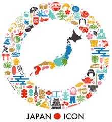 日本 アイコン